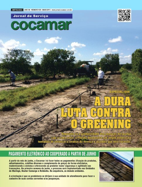 Jornal Cocamar Maio 2015