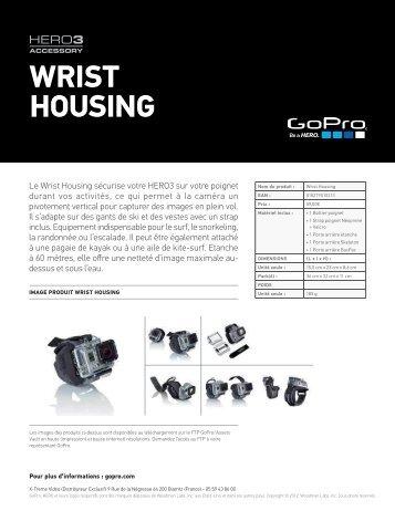 Gopro Fixation Gopro Bracelet - fiche produit