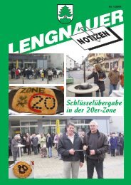 LN_1_08_internet:Nr 2/07 streifen - Einwohnergemeinde Lengnau BE