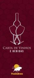 CARTA DE VINHOS PICANHA BRAVA