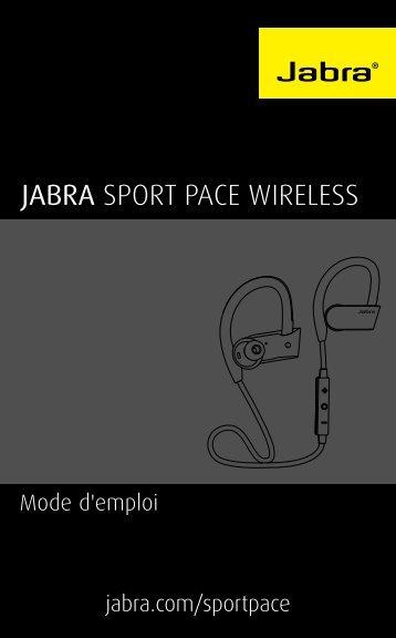 Jabra Casque intra Jabra Sport Pace wireless jaune - notice