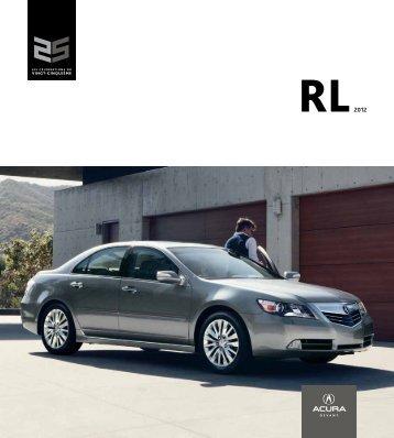 Brochure PDF RL - Acura
