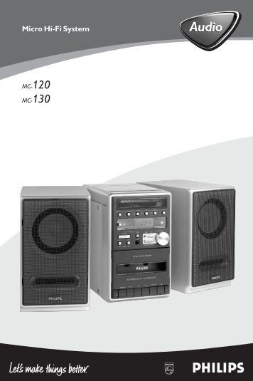 Philips Micro Hi-Fi System - User manual - ELL