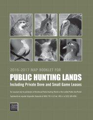 PUBLIC HUNTING LANDS