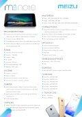 Meizu Smartphone Meizu M3 Note 16 Go Silver - fiche produit - Page 2