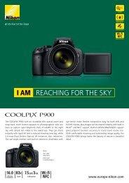 Nikon Appareil photo Bridge Nikon P900 noir - fiche produit