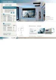Oray Ecran de projection Oray 2000 HC 101x180 MANUEL - fiche produit