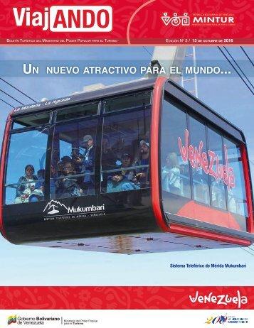 Sistema Teleférico de Mérida Mukumbarí