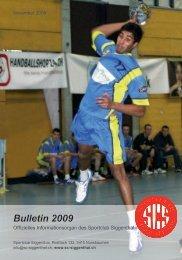 Bulletin 2009 - SC Siggenthal