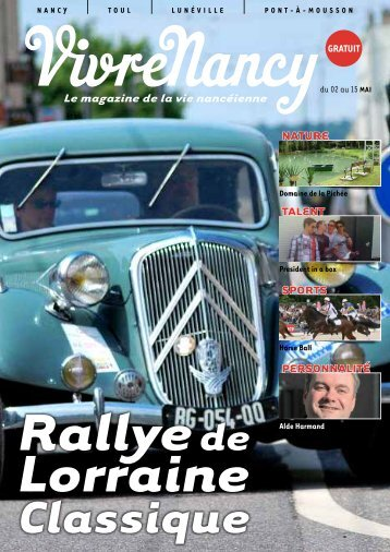 Le magazine de la vie nancéienne nature talent sports ... - VivreNancy