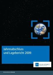 Jahresabschluss und Lagebericht 2009 - Euler Hermes ...
