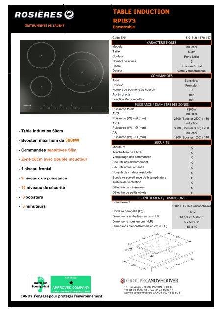 Notice Plaque Induction Sauter Latest Plaque Induction Samsung