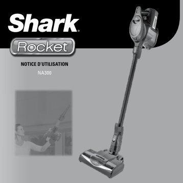 Shark Aspirateur balai Shark NA300 - notice