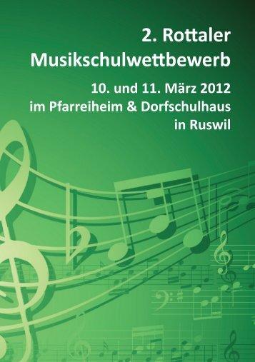Musik – im Focus ihrer Lokalzeitung www.rottaler ... - Schule Buttisholz