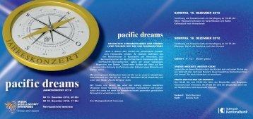 pacific dreams - Musikgesellschaft Immensee