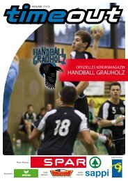 Sponsoren - Handball Grauholz