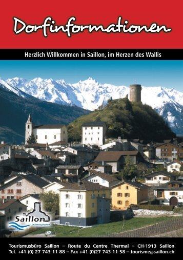 Herzlich Willkommen in Saillon, im Herzen des Wallis