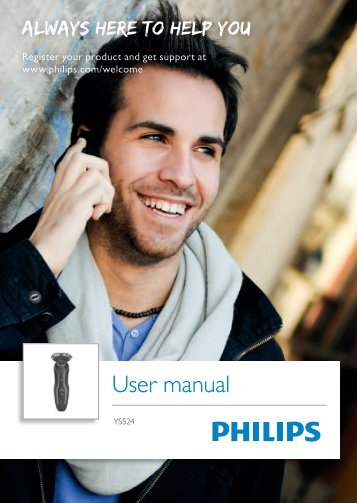 Philips Click&Style Philips Norelco shave, groom & style - User manual - FRA