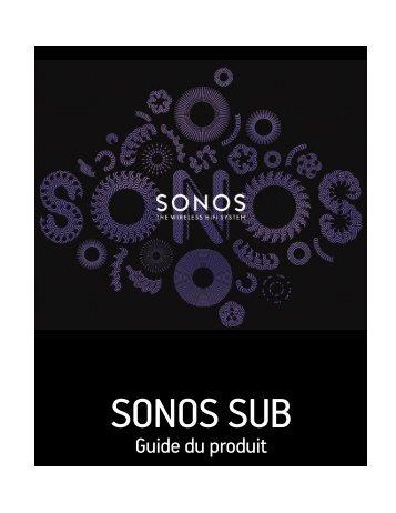 Sonos Caisson de basse Sonos SUB Glossy Black - notice