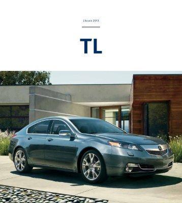 Brochure 2013 TL - Acura