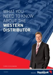 What you need to know about The Western Distributor by Chris Schumann