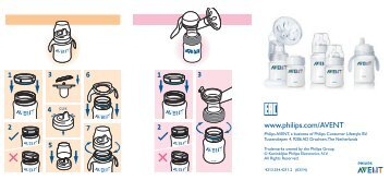 Philips Avent Classic baby bottle - User manual - RUS