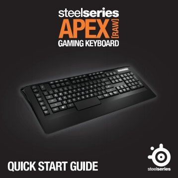 Steelseries Clavier gamer Steelseries Apex Raw - notice