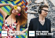 Philips O'Neill Headband headphones - Product brochure - AEN