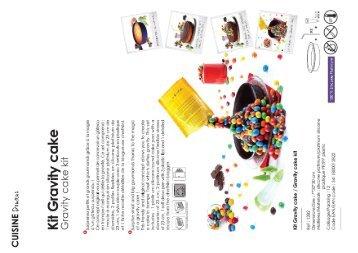 Yoko Moule en silicone Yoko Gravity Cake - fiche produit
