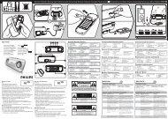Philips Portable Speaker System - User manual - ESP