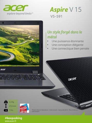Acer PC Gamer Acer Aspire V5-591G-55V5 - fiche produit