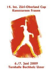 14. Int. Züri-Oberland Cup Kunstturnen Frauen - Sportclub Satus Uster