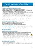 Philips Streamium Flash audio video player - User manual - HUN - Page 5