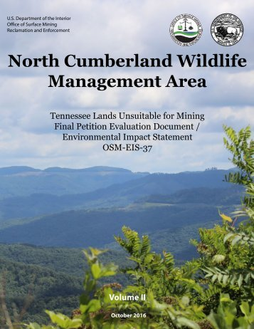 North Cumberland Wildlife Management Area