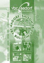 Bulletin_2008_2009 [PDF, 3.00 MB] - VBC Aadorf