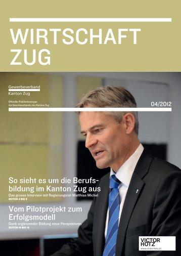 in guten händen. - Gewerbeverband Kanton Zug