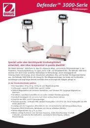 DefenderTM 3000 Plattformwaagen - etikettenundmehr24