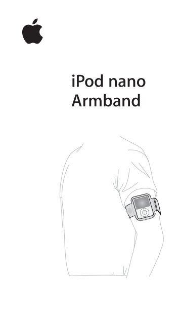 Apple iPod nano (3e génération) poche du brassard - Guide de l'utilisateur - iPod nano (3e génération) poche du brassard - Guide de l'utilisateur