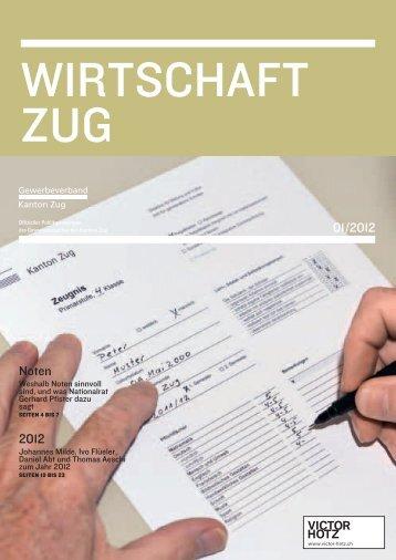 01/2012 Noten 2012 - Gewerbeverband Kanton Zug