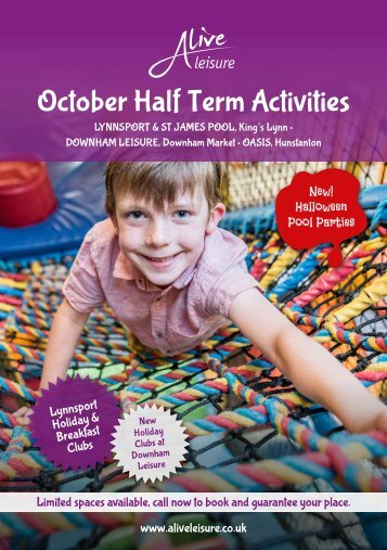 October Half Term Activities