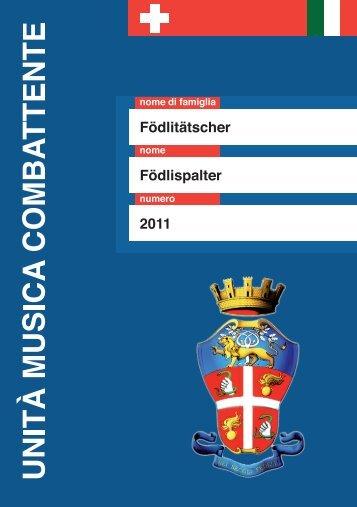 Foedlispalter 2011 - Födlitätscher