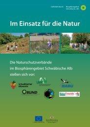 Naturschutzverbände Schwäbische Alb