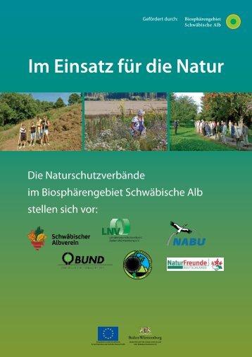 Naturschutzverbaende Schwäbische Alb