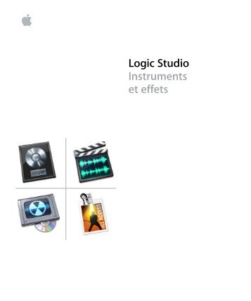 Apple Logic Studio - Instruments et effets - Logic Studio - Instruments et effets