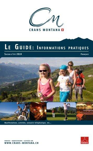 Le Guide: informations pratiques - Dialogue Connect