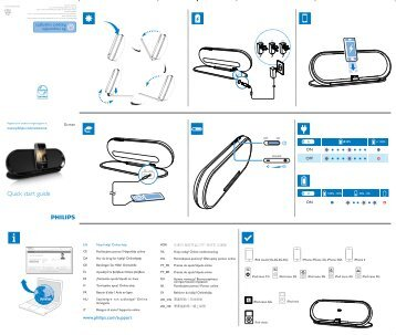 philips ipod docking station manual