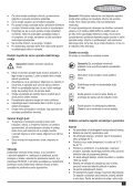 BlackandDecker Debroussaileuse- Gsl200 - Type H1 - Instruction Manual (Balkans) - Page 7