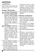BlackandDecker Aspirateur Auto- Adv1210 - Type H1 - Instruction Manual (Lituanie) - Page 4