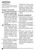 BlackandDecker Aspirateur Auto- Adv1220 - Type H1 - Instruction Manual (Lituanie) - Page 4