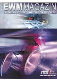 Das EWM-Magazin Ausgabe 01/2004 - EWM Schweißtechnik Online